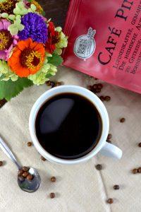 Aufgebrühter Lupinenkaffee
